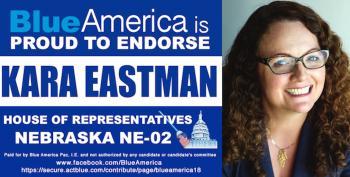 Omaha? Blue America Endorses Kara Eastman