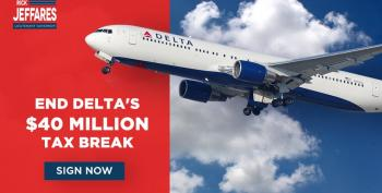 Georgia Republicans Try Blackmailing Delta Airlines After It Cuts Ties To NRA