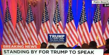 Return Of The Empty Podium: Trump Plays The Media With A Fake Memo