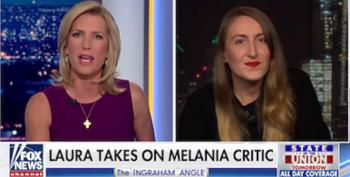 Watch What Happens When This Writer Tells Laura Ingraham That Donald Trump Is 'Truly A Disgusting Human Being'
