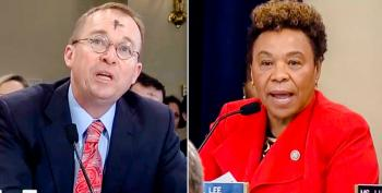 Barbara Lee Slams Mulvaney: Trump's $30M 'Parade' Would Fund SNAP For 24,000