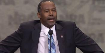 Watch Sleepy-Eyed Liar Ben Carson Blame His Wife For $31K Table Purchase