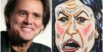 Jim Carrey Slammed By Fox News For 'Disgraceful,' Garish Portrait Of Sarah Sanders