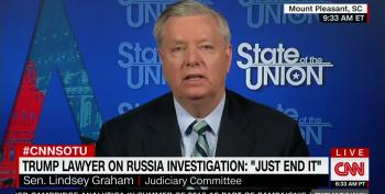 Lindsey Graham Continues To Pretend Republicans Would Impeach Trump For Firing Mueller