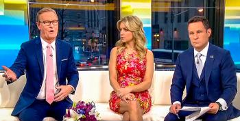 Fox's Steve Doocy Practically Begs Trump To 'Declare An Emergency' After Stormy's CBS Appearance