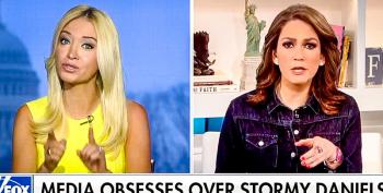 Kayleigh McEnany Is Asked Point-Blank: 'Do You Think Trump Slept With Stormy Daniels?'