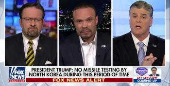 Hannity Guest Bongino: Trump's 'DEFCON 1-level Tweets' Brought North Korea To Table