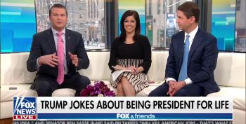 Fox & Friends Covers For Trump's 'President For Life' Comment: 'It's A Joke!'