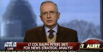 Ralph Peters Further Rips Fox 'Cult Of Trump'