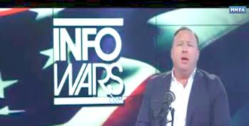 Terrified Alex Jones Warns Viewers: March For Our Lives Protests Are Plot To Kill Gun Owners