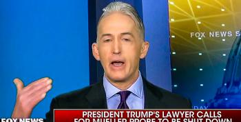 Trey Gowdy Calls Out Trump's Attorney: 'If You Have An Innocent Client Then Act Like It'