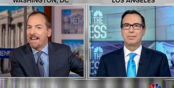 Steve Mnuchin: I Tell My Kids 'Focus On Policy' When Trump Calls Chuck Todd 'Son Of A B*tch'