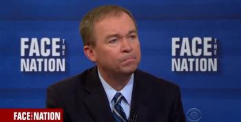 Twitter Responds To Swamp Creature Mulvaney's Corruption