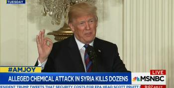 Trump Goes On Twitter Tirade Blaming Obama For Latest Chemical Attack In Syria