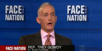 Rep. Trey Gowdy: 'Serious Investigations Don't Make Up Their Mind First'