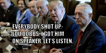 Trump Has Lou Dobbs On Speaker Phone During Oval Office Meetings
