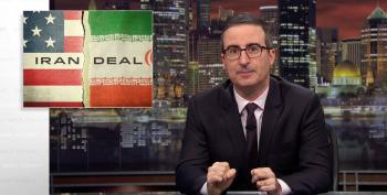 John Oliver Runs Ad On Hannity To Try And Save The Iran Nuclear Deal