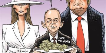 Real Corruption: Mick 'Pay And We'll Talk' Mulvaney