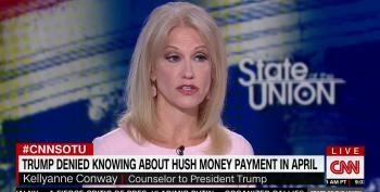 Kellyanne Conway Tries To Clean Up Mess Made By Trump And Giuliani Over Daniels' Hush Money