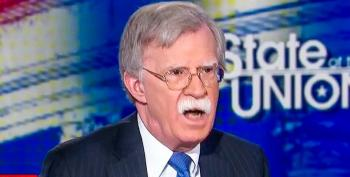 Bolton On Violating Iran Deal:  'We're Not Going It Alone -- We Have The Support Of Israel'