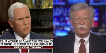 What Did Trump Expect After Bolton And Pence's Threats To North Korea?