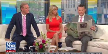 Fox's Hegseth Attacks NY Times For Not Reporting ISIS Capture - That It Covered Two Days Before