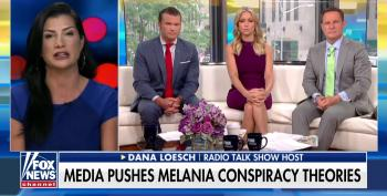 Dana Loesch Outraged At Media For Asking 'Where's Melania?'