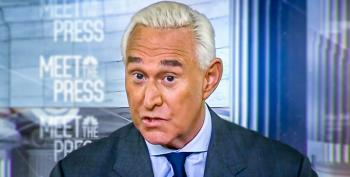 Roger Stone Rants About Secret Mueller Plot To 'Silence' Him -- And Then Gets Clobbered By Chuck Todd