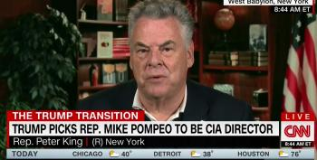Rep. Peter King Compares NFL Players Taking A Knee To Nazi Salutes