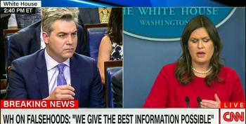 Sanders Struggles To Explain Blatant 'Lying' About Stormy: 'We Give The Very Best Information'