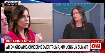 Sarah Sanders Gets Testy About Questions On EPA's Manhandling Of Reporters