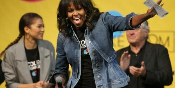 At College Signing Day, Michelle Obama Is 'Forever First Lady'