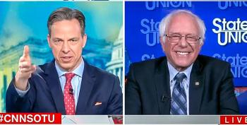 Jake Tapper Calls Out Bernie For Dodging On 2020 Run: 'You Went From A Deflection To A Pandering'