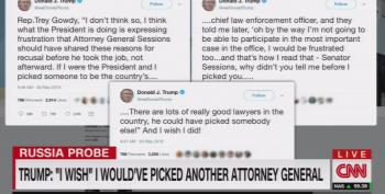 Trump Has Buyer's Remorse After Sessions Refused To 'Un-Recuse' Himself