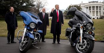 Trump Beats Up Harley Davidson Over Tariffs, Then Taunts Them