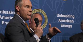 Scott Pruitt Spends $1M More On 'Security' Than He Did Last Month
