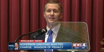 IRONY: Eric Greitens' Last Official Act Is To Sign Revenge Porn Law
