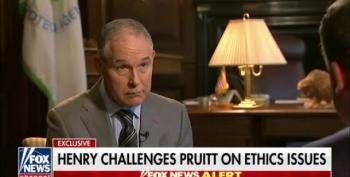 Scott Pruitt 'Isn't Going Anywhere' Despite Chick-Fil-A And Trump Mattress Scandals