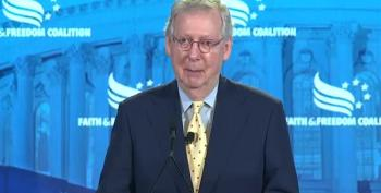 Mitch McConnell Whines That Democrats Are Obstructing Trump