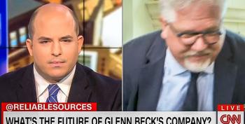 Glenn Beck Storms Out On CNN Interview After Brian Stelter Asks About His 'Imploding' Media Company