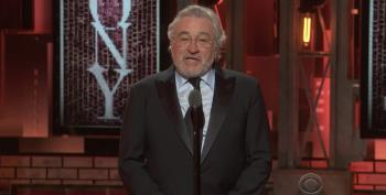 At Tony Awards, Robert DeNiro Tells Trump: F**k You