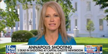 Kellyanne Conway Feigns Concern Over Slain Journalists