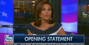 Irony Dies As Fox's Flame-Throwing 'Judge' Jeanine Pirro Bemoans The 'Loss Of Civil Discourse'