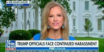 Kellyanne: 'No Moral Equivalence' Between Left's Shunning And Trump's Hate