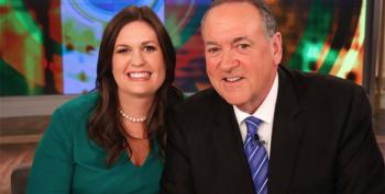 Mike Huckabee Proves The Apple Falleth Not Far From The Tree