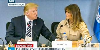Trump At Melania's First Public Sighting In 26 Days: 'She Went Through A Rough Patch'