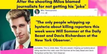 Yiannopoulos Has No Regrets He Called For Gunning Down Reporters