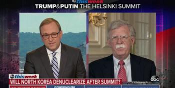 John Bolton Tries To Give 'Context' To Trump's Lie About N. Korean Denuclearization
