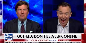 Tucker Carlson Agrees With Greg Gutfeld:  'People Shouldn't Be Jerks'