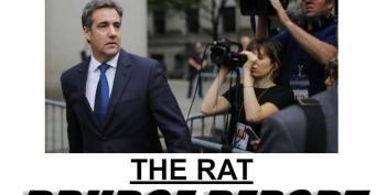 Drudge Report: Michael Cohen Is 'The Rat'
